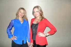 Kristin and Elena, Chicago 2013